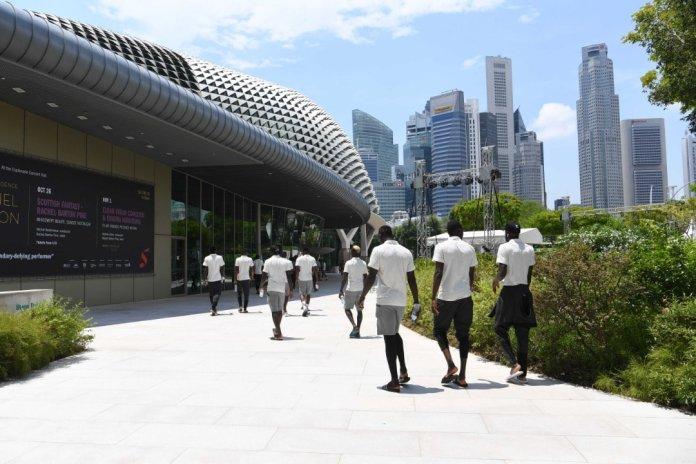 72382598 1014922575566325 3205885936172793856 o - Singapour: Promenade matinale des Lions avant d'affronter le Brésil