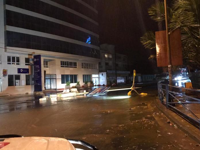 degat pluie 00 - Dakar : Après la pluie, ce n'est pas le beau temps
