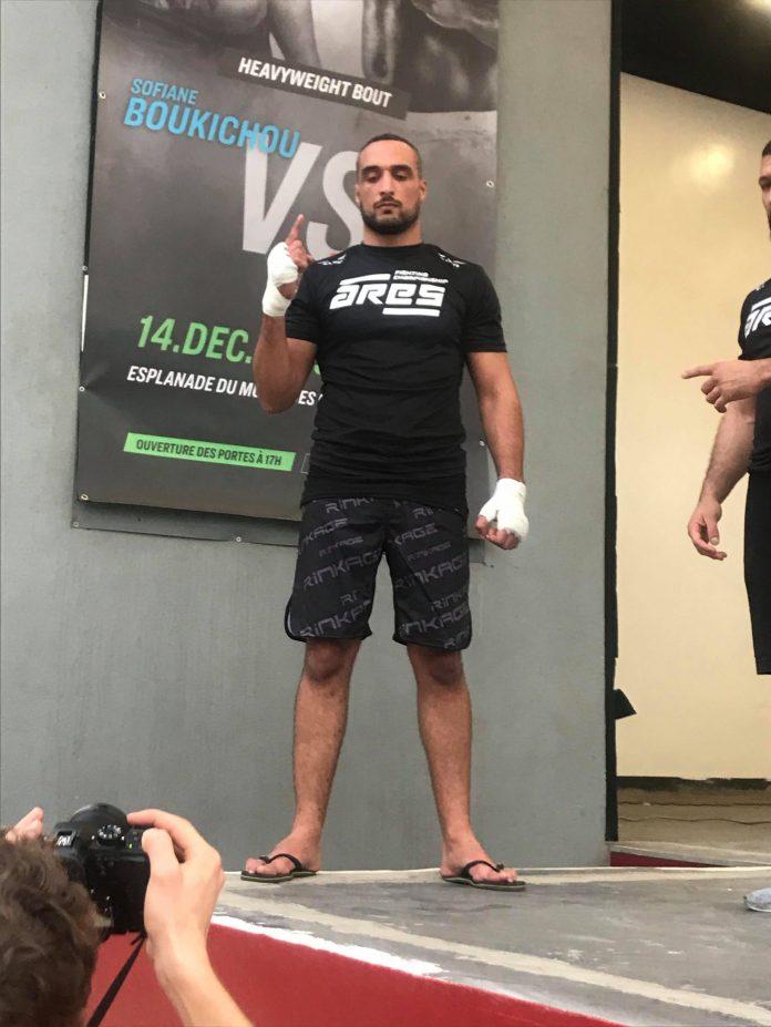 79479270 2406378996282942 3373942727950467072 n scaled - MMA : Reug Reug et son adversaire Sofiane, présentés au public (13 Photos)