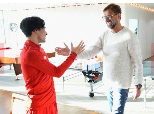 egrgze - Liverpool : Les premiers pas du Japonais Minamino ! (Photos)