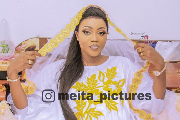 (06 photos) Al Khayri : La belle Fana de Pressafrik s'est mariée avec Mor Talla Gaye de Gfm