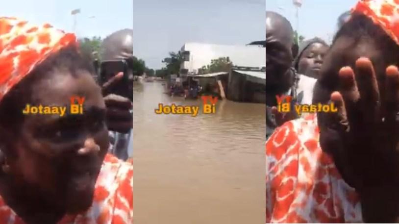 Inondations à Touba: Désespérée, une mère de famille verse de chaudes larmes  (Vidéo) - Senego.com
