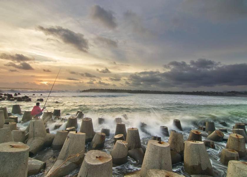 Pantai Glagah Kulon Progo Yogyakarta