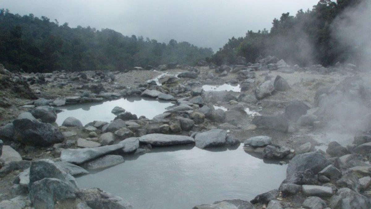 Kawah Domas - Gunung Tangkuban Perahu