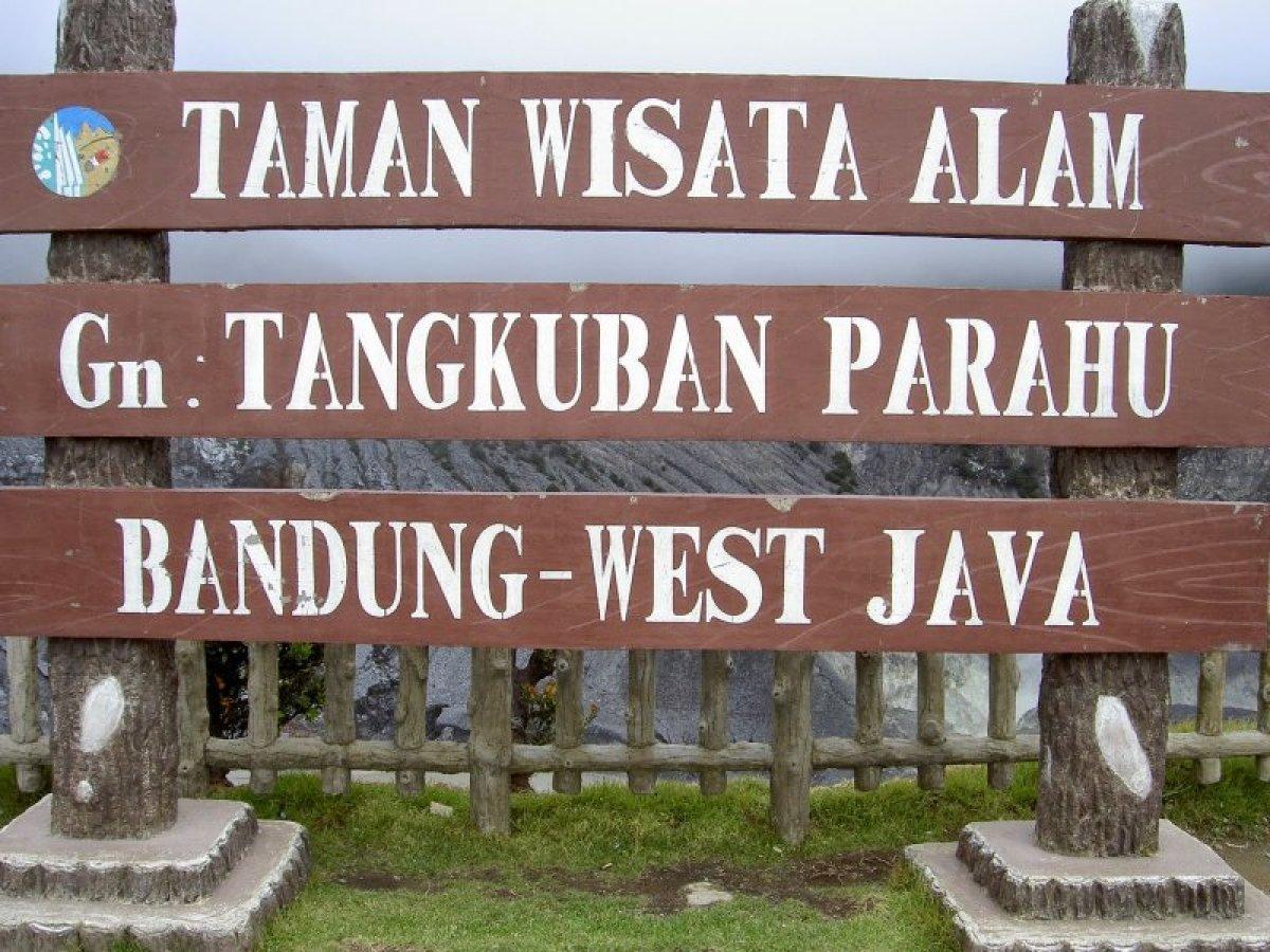 Taman Wisata Tangkuban Perahu Bandung