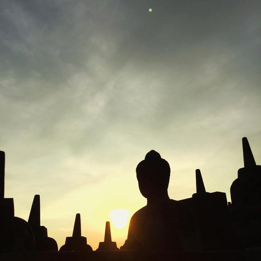 Candi Borobudur Magelang Jateng - via IG @soulfunkjazz