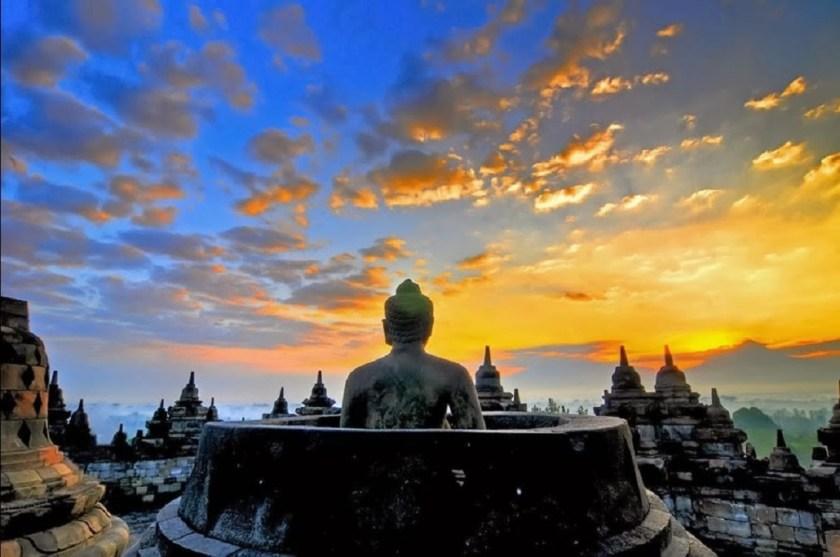Candi Borobudur - tempat wisata di jogja