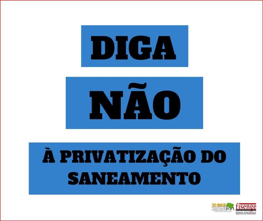 PRIVATIZACAO DO SANEAMENTO