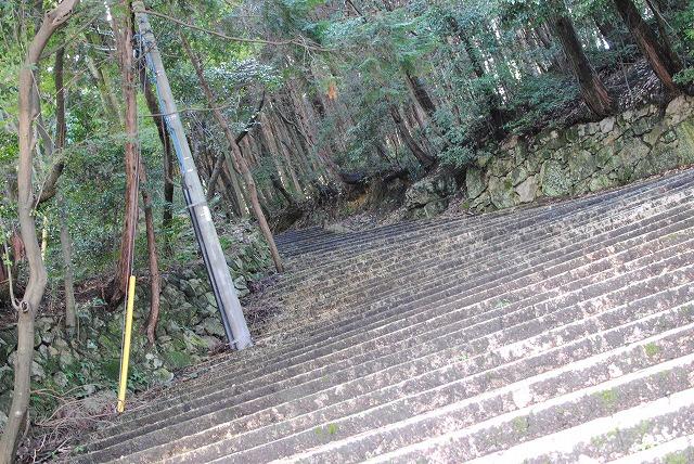 怪談に出てきそうな階段