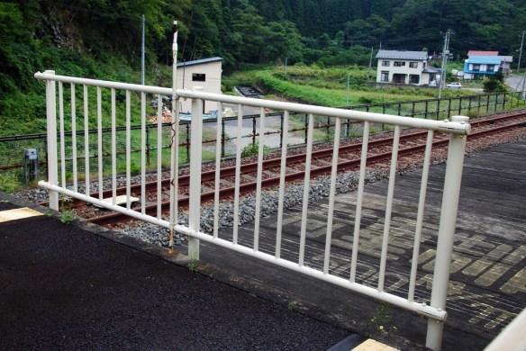 故郷編 北鉄畑野駅 何故かここからトンネルを撮っていない…。
