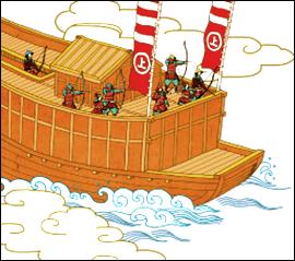 村上水軍とは?瀬戸内海の最強伝説!海賊武将の歴史や伝説、特徴など