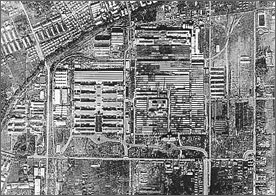 ●中島飛行機武蔵製作所(米軍撮影) 武蔵野市HPより