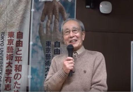 講演する池田浩士さん