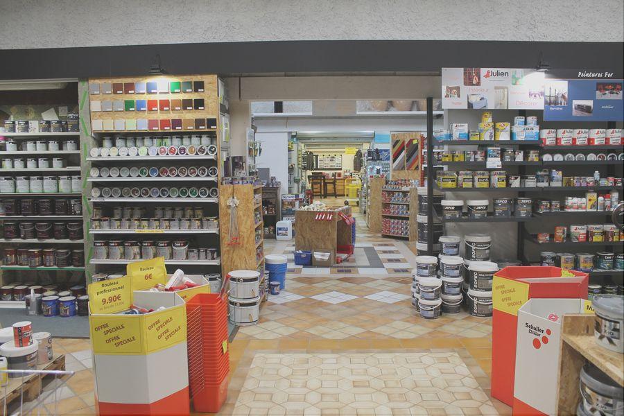 rayons magasin senicolor lyon destockage de matériel professionnel