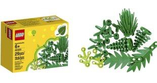 LEGO Elemente aus pflanzlichem Kunststoff