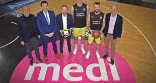 Basketball-medi verlängert Sponsoringvertrag