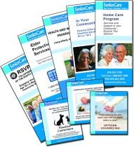 image showing several brochures