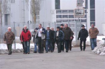 Besichtigung der Kermi GmbH 2012