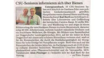 04.11.2013 Osterhofener Zeitung