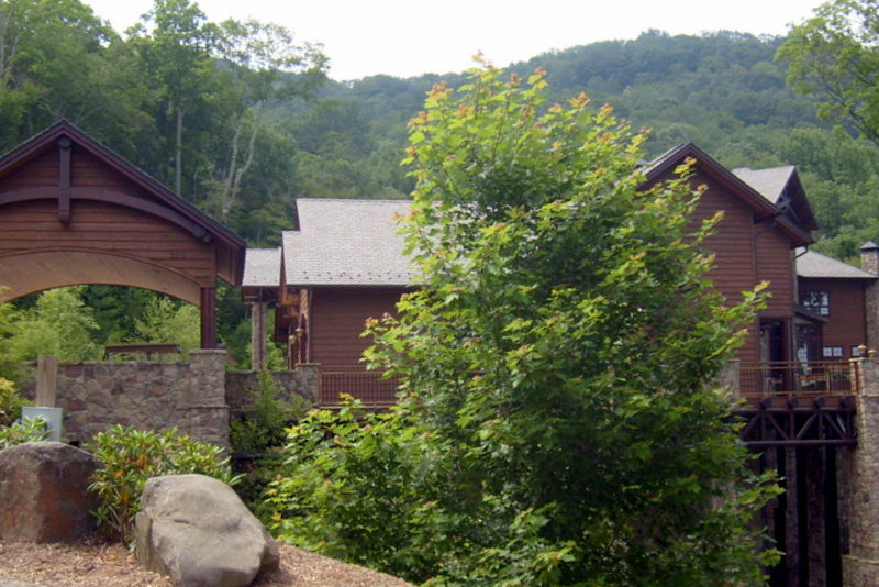 A home in Mountain Air, North Carolina.  July 11, 2009.