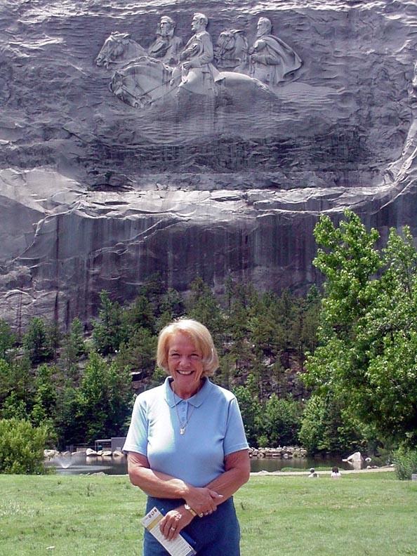 Betsy at Stone Mountain, Georgia.  June 2, 2009.