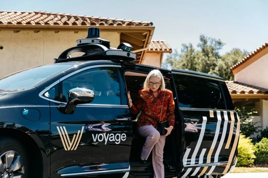 Autonomous vehicles in senior living.