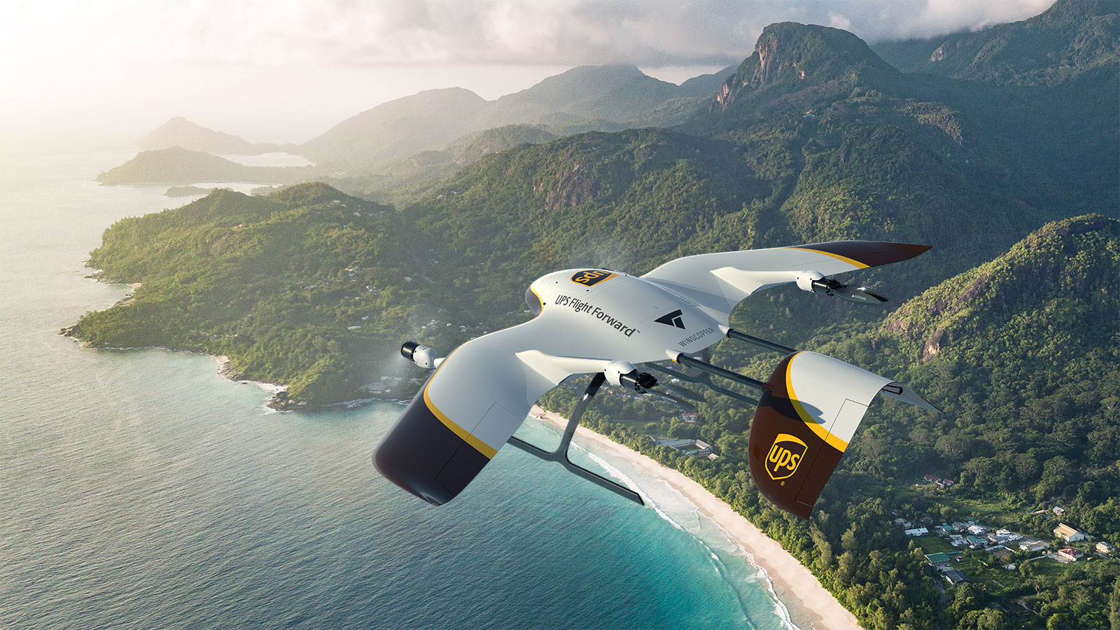 Drone medication deliveries were made to Vanuatu