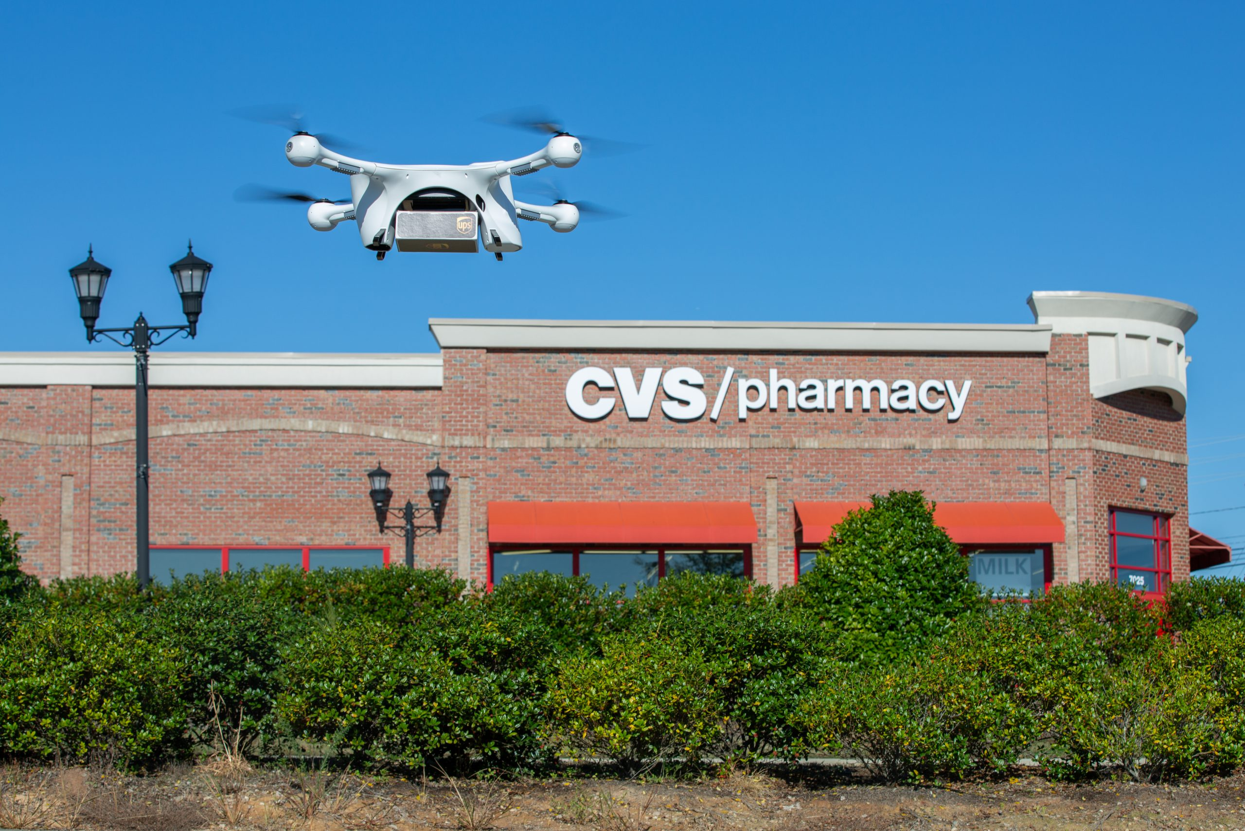 Drone medication deliveries to seniors