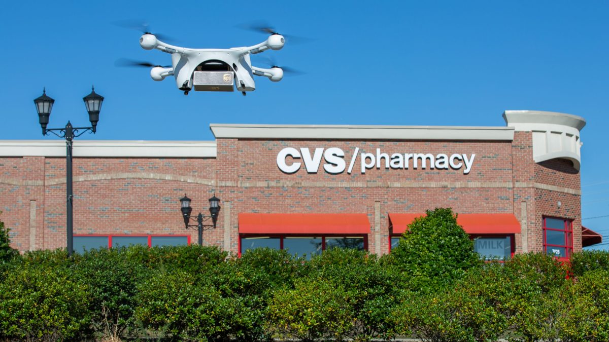 Drone Medication Deliveries for Seniors
