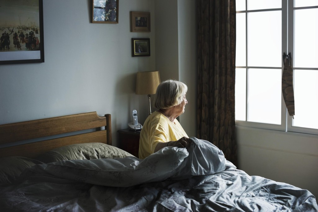 Moving after losing your spouse
