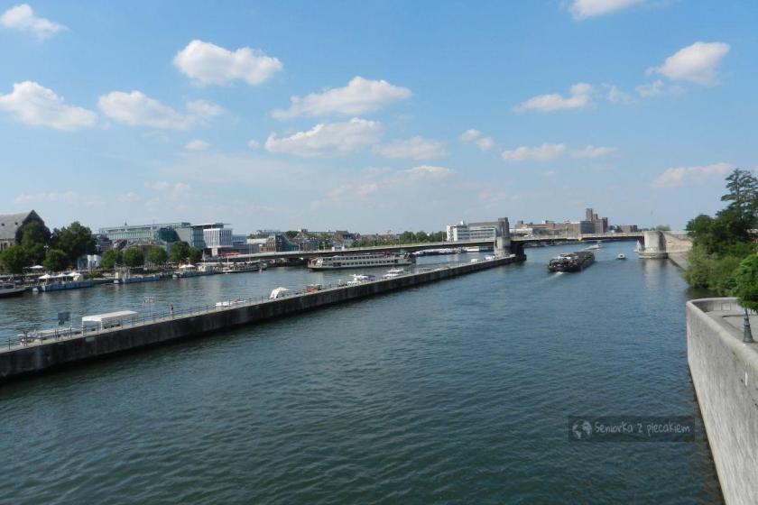 Rzeka Moza w Maastricht