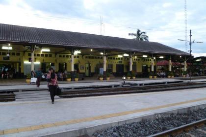 Dworzec kolejowy w Ajutthaji