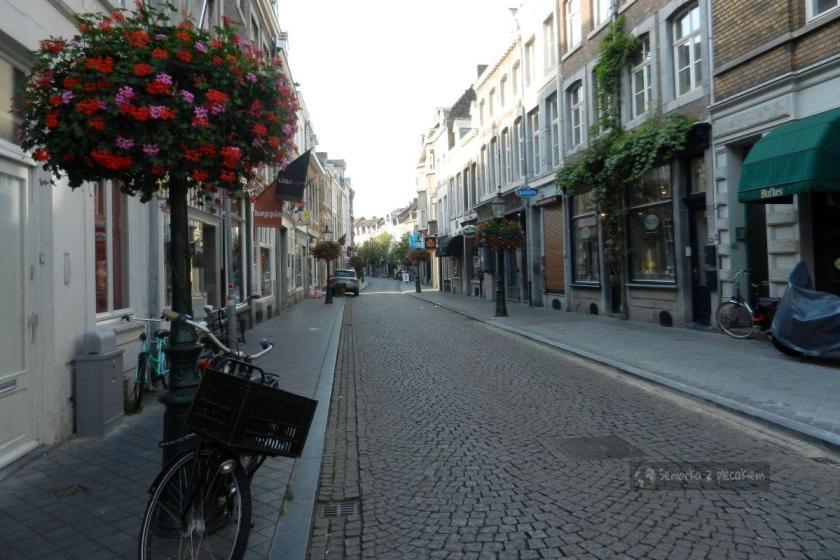 Ulica w Maastricht w Holandii