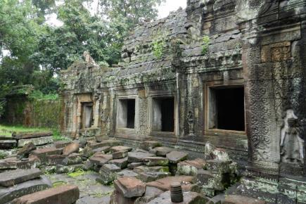 Preah Khan w kompleksie Angkor w Kambodży
