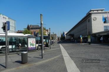 Dworzec autobusowy w Hasselt