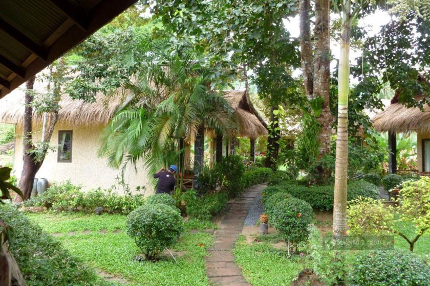Domki na wyspie Ko Chang