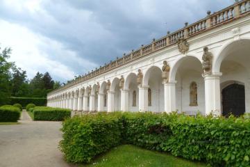 Czechy - Kromeriż - ogród kwiatowy