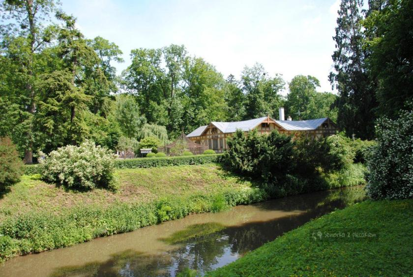 Mini zoo w Ogrdzie Pałacowym w Kromieryż