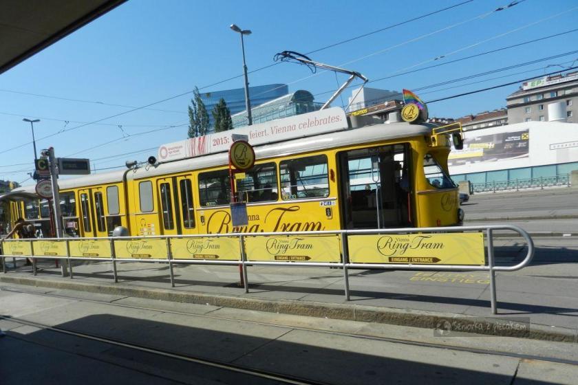 Tramwaj wycieczkowy w Wiedniu