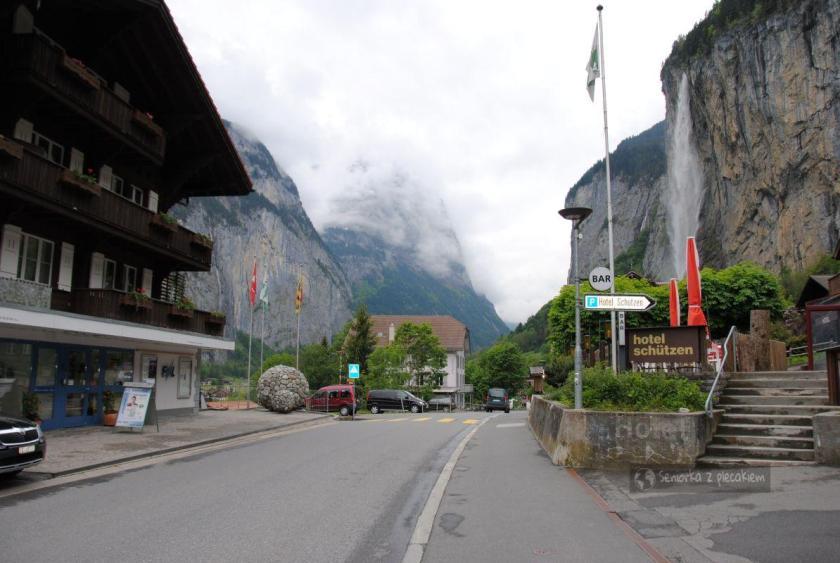 Lauterbrunnen w Szwajcarii