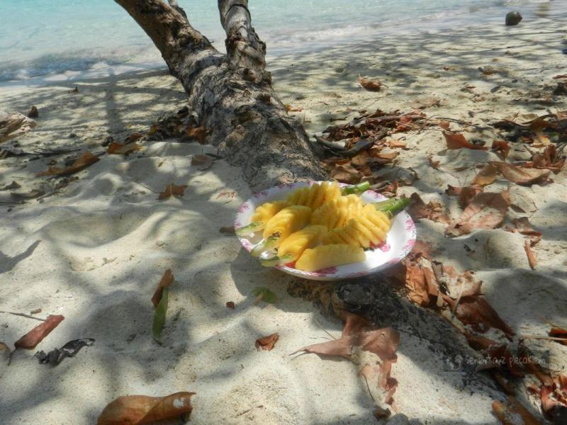 Ananasa podano – Krabi