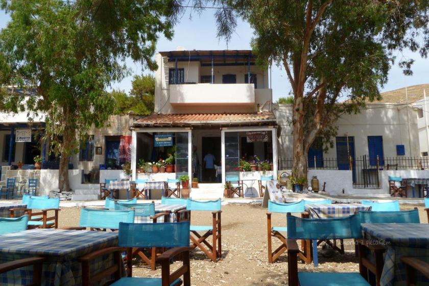 Restauracja w Megalo Livadi na Serifos