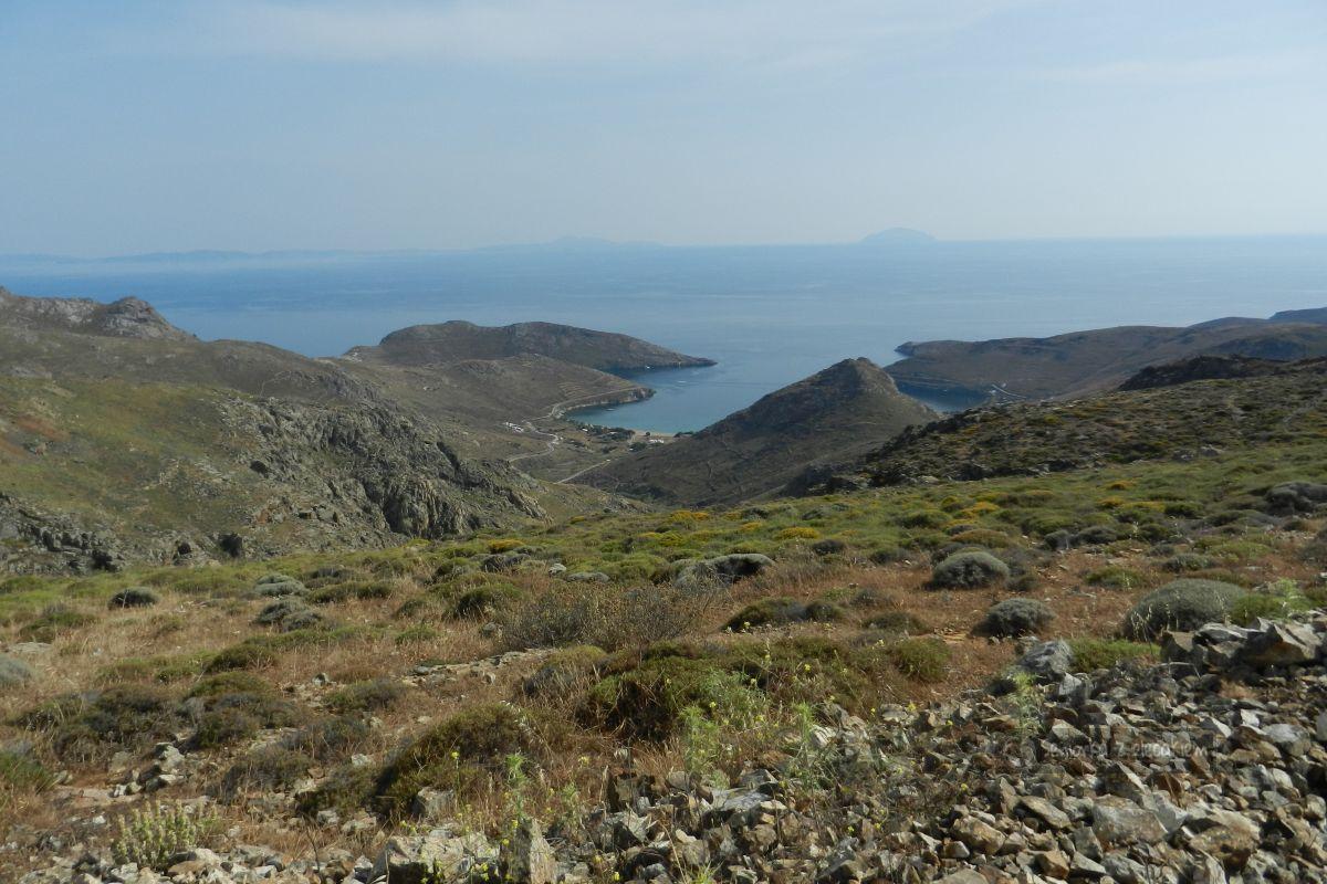 Serifos - autem po wyspie