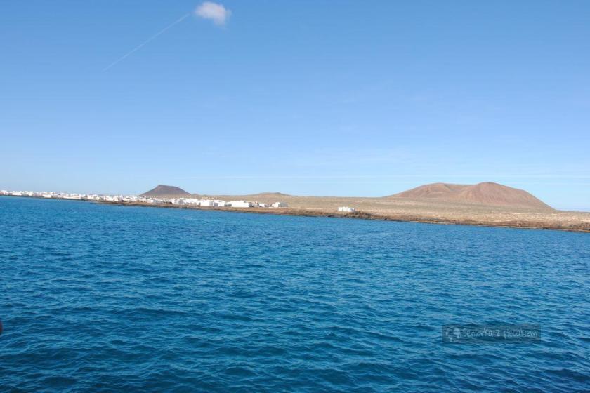 Rejs na wyspę La Graciosa