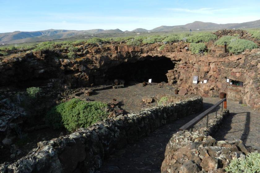 Cueva de los Verdes - wejście
