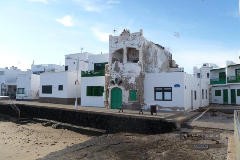 Caleta de Famara na Lanzarote