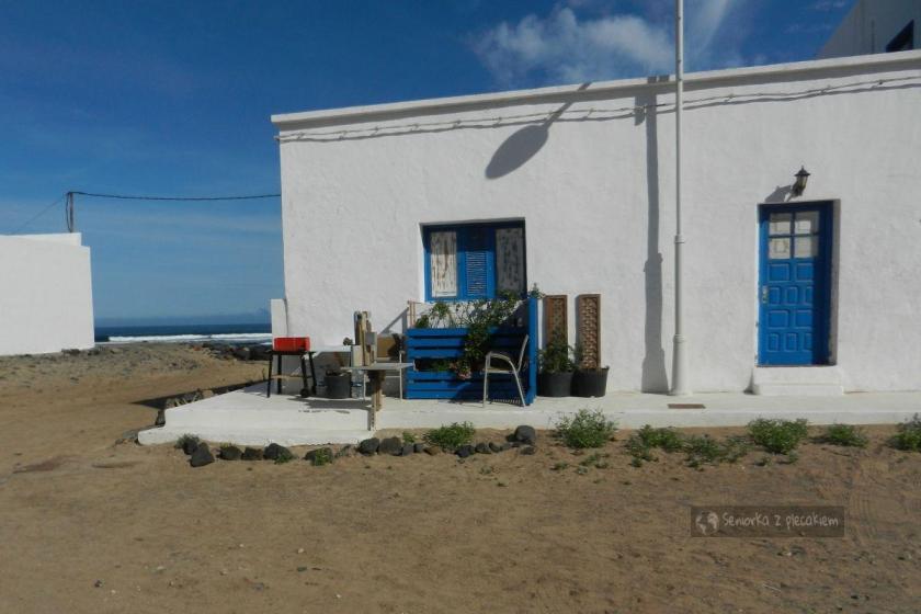 Dom w Caleta de Famara na Lanzarote