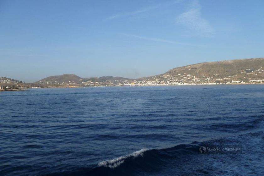 Wyspę Paros na Cykladach