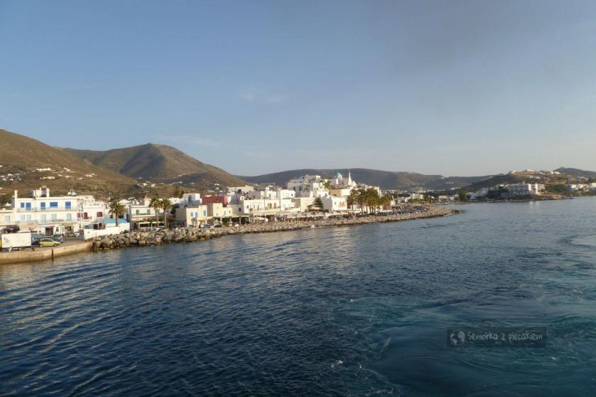 Wyspa Paros i miejscowość Parikia