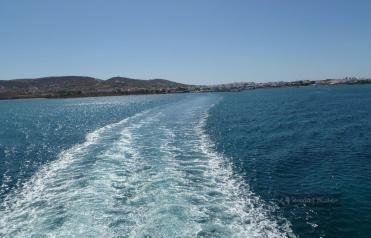 Powrót na Paros z Antiparos
